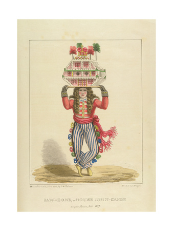 Jaw-Bone, or House John-Canoe, Plate 3 from 'Sketches of Character...', 1838 Giclee Print by Isaac Mendes Belisario