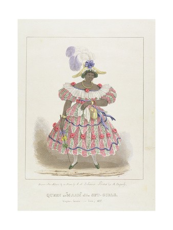 Queen or 'Maam' of the Set-Girls, Plate 1 from 'Sketches of Character... ', 1838 Giclee Print by Isaac Mendes Belisario