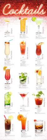 Cocktails Posters