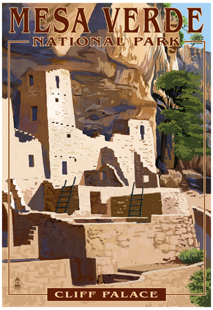 Mesa Verde National Park, Colorado - Cliff Palace Posters