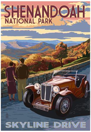 Shenandoah National Park, Virginia - Skyline Drive Prints