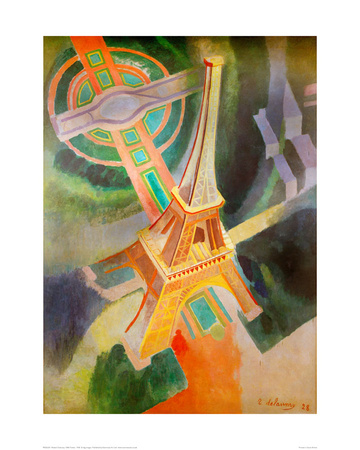 Eiffel Tower, 1928 Giclee Print by Robert Delaunay
