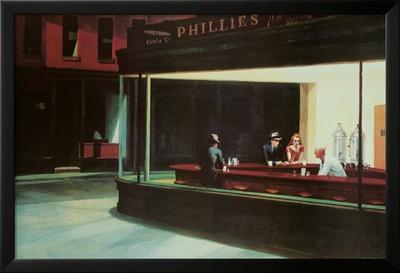 Nachtschwärmer, ca. 1942 Kunstdrucke von Edward Hopper