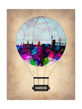 Hamburg Air Balloon Posters by  NaxArt