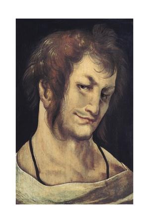 Head of a Man Print by Hans Leonard Schaufelein