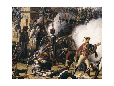 Attack and Conquest of Regensburg Art by Charles Thevenin