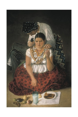 The Gypsy Boy and Chinese Girl Prints by Jose Agustin Arrieta