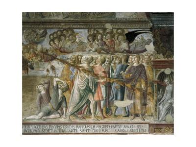 Apocalyptic Scene Posters by Lorenzo Di Pietro Vecchietta