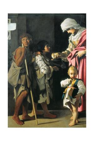 Charity Pósters por Bartolomeo Schedoni
