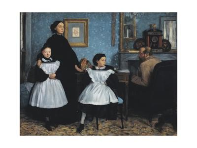The Bellelli Family Prints by Edgar Degas