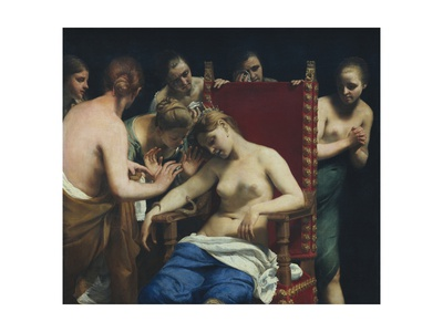 Death of Cleopatra Posters by Guido Cagnacci