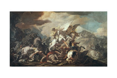 Legendary Battle of Clavijo, 844 Prints by Corrado Giaquinto
