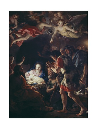 The Adoration of the Shepherds Prints by Anton Raphael Mengs