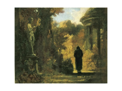 The Philosopher in the Park Posters by Carl Spitzweg