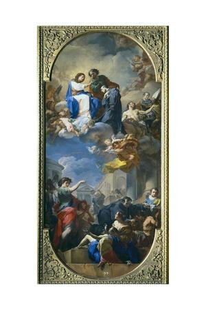 Triumph of Saint John of God Poster by Corrado Giaquinto
