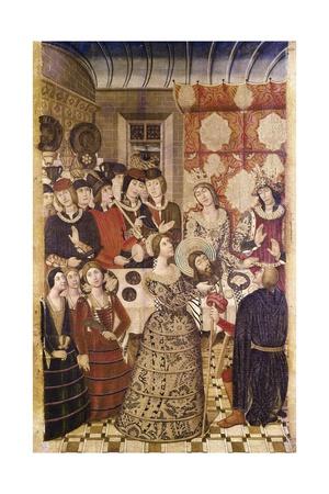 Herod's Banquet Posters by Pedro Garcia De Benabarre