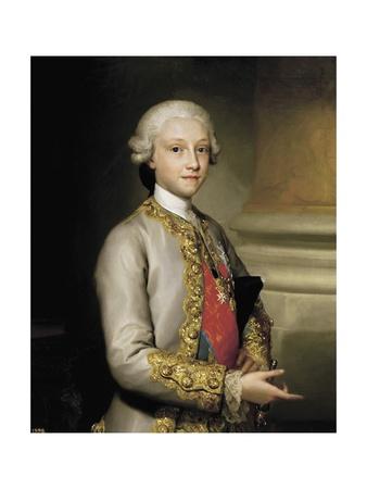 Infante Don Gabriel of Bourbon Posters by Anton Raphael Mengs
