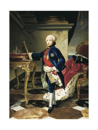Ferdinand Iv, King of Naples Prints by Anton Raphael Mengs