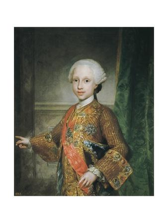 Infante Don Xavier of Bourbon Prints by Anton Raphael Mengs