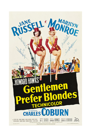 Gentlemen Prefer Blondes Print