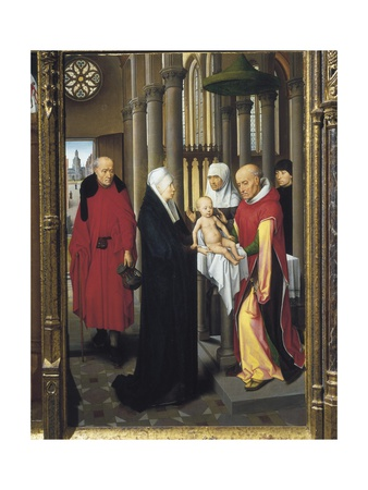 Triptych of the Adoration Posters by Hans Memling