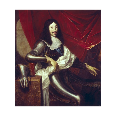 King Louis XIII, the Just, of France Prints by Justus van Egmont