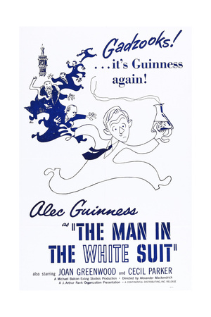 The Man in the White Suit Posters