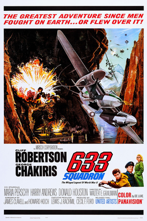 Flyveeskadrille 633 Posters