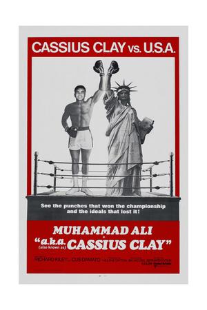 Muhammad Ali A.K.A. Cassius Clay Affischer