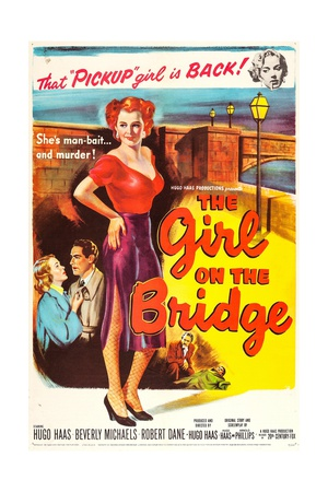 The Girl on the Bridge Art