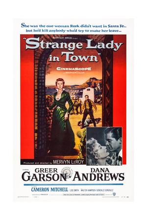 Strange Lady in Town Prints