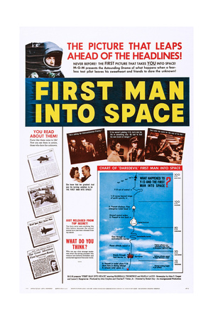 First Man into Space Posters