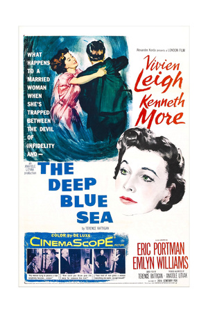 The Deep Blue Sea Posters