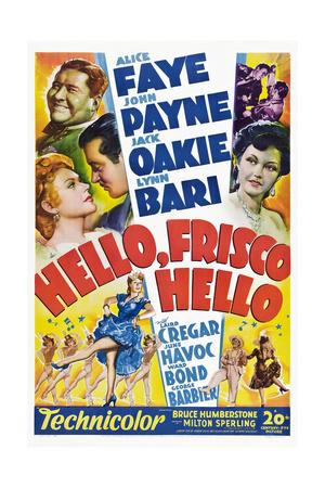 Hello, Frisco, Hello Prints
