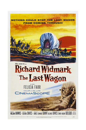 The Last Wagon Posters