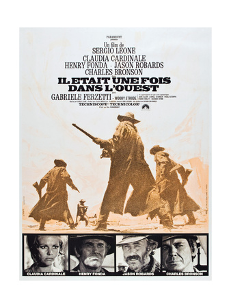 Once Upon a Time in the West Posters