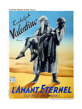 The Son of the Sheik (aka L'Amant Eternel) Prints