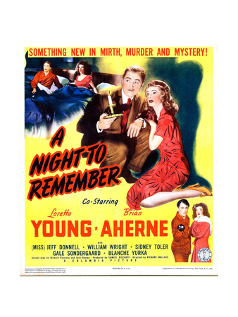 A Night to Remember Print
