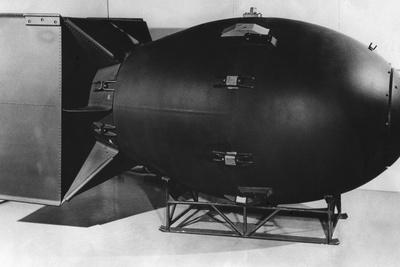 A Post-War Model of 'Fat Boy' Photo