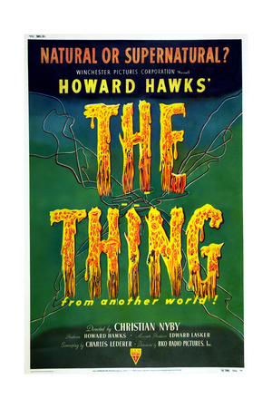 The Thing from Another World Art