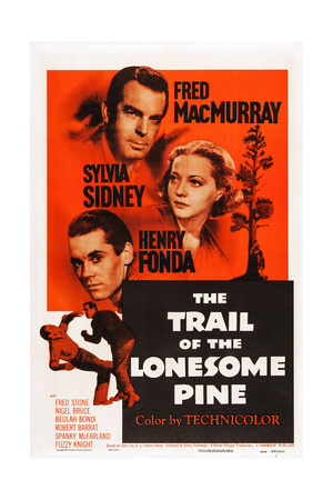 The Trail of the Lonesome Pine Prints