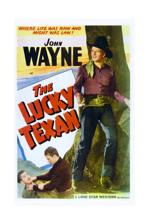 The Lucky Texan Posters