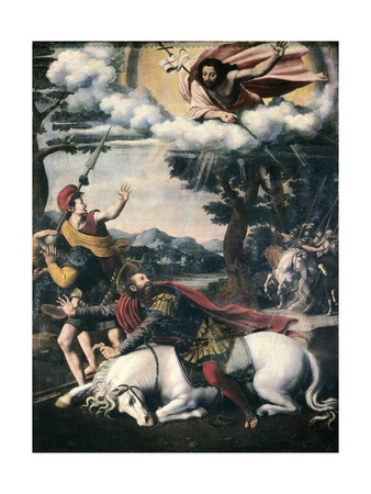 Conversion of Saint Paul Prints by Vicente Macip