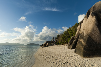 Anse Source D'Argent Beach, La Digue, Seychelles, Indian Ocean, Africa Photographic Print by  Sergio