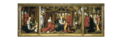 Adoration Posters by Hans Memling