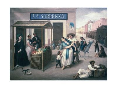 The Surprise Prints by Jose Agustin Arrieta
