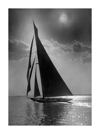 The Vanitie During the America's Cup, CA. 1900-1910 Posters by Edwin Levick
