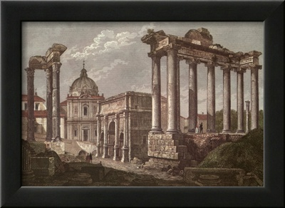 The Roman Forum Prints by Alessandro Antonelli