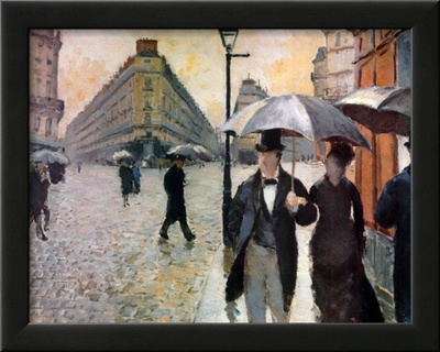 Paris, a Rainy Day, 1877 Prints by Gustave Caillebotte