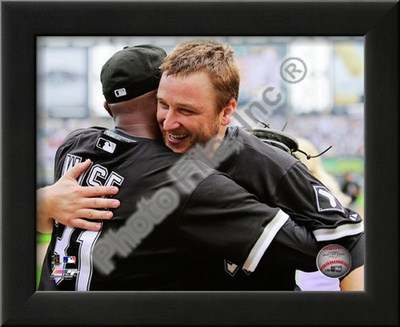 Mark Buehrle '09 Perfect Game (w/ D. Wise) Prints